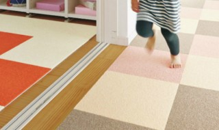 タイルカーペット 床 DIY
