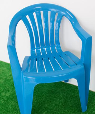 椅子 DIY 塗装