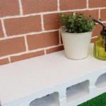 発泡スチロール レンガ ブロック DIY