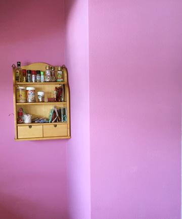 DIY キッチン 壁
