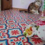 DIY 床 クッションフロア