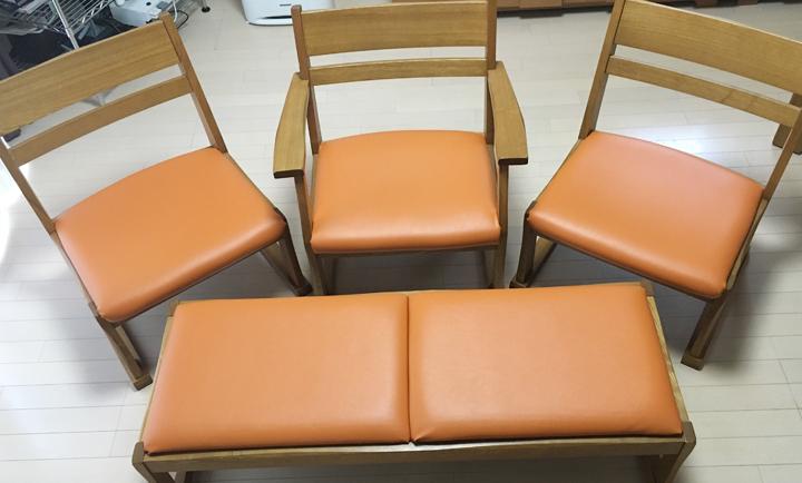 椅子 ビニールレザー