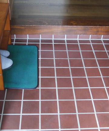 床 diy 玄関