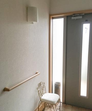 DIY 玄関 壁紙
