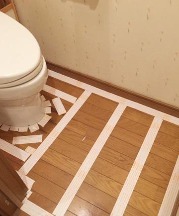 トイレ クッションフロア DIY