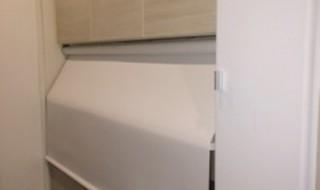 DIY キッチン ロールスクリーン