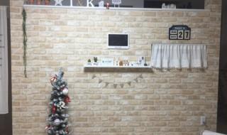 リビング 壁 DIY