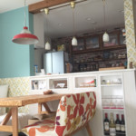 DIY  壁紙 キッチン