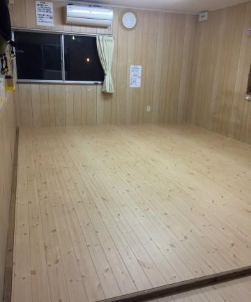 after DIY フローリング床