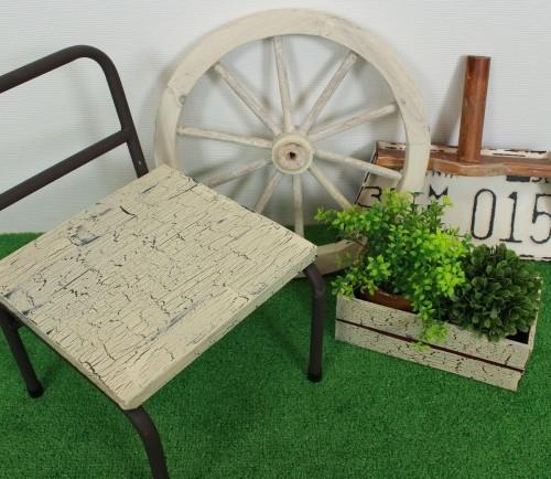 クラッキング 椅子プランター